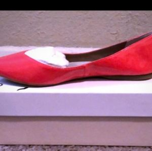 BP Moveover' Pointy Toe Flat Coral Color